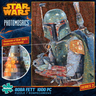 Star Wars™: Boba Fett 1000 Piece Photomosaic Jigsaw Puzzle Box