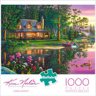 Kim Norlien Golden Moments 1000 Piece Jigsaw Puzzle Box