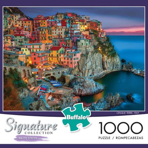 Cinque Terre Italy 1000 Piece Jigsaw Puzzle Box