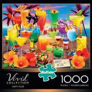 Vivid Happy Hour 1000 Piece Jigsaw Puzzle Box