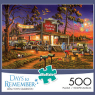 Days to Remember Small Town Celebration 500 Piece Jigsaw Puzzle Box