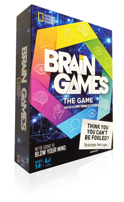National Geographic's Brain Games Box