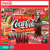 Ice Cold Coca-Cola 1000 Piece Jigsaw Puzzle Box