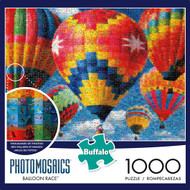 Balloon Race 1000 Piece Photomosaic Jigsaw Puzzle Box