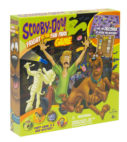 SCOOBY-DOO's Fright at the Fun Park Game Box