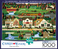 Charles Wysocki Yankee Wink Hollow 1000 Large Piece Jigsaw Puzzle Box