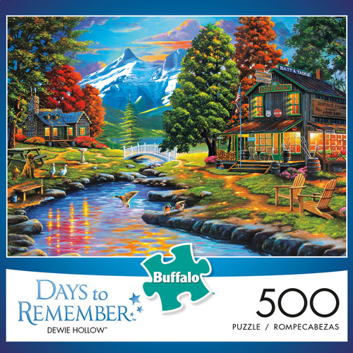 Days to Remember Dewie Hollow 500 Piece Jigsaw Puzzle Box