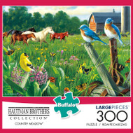 Hautman Brothers Country Meadow 300 Large Piece Jigsaw Puzzle Box
