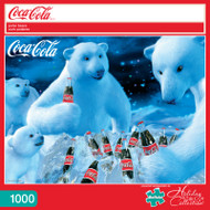 Coca-Cola Polar Bears 1000 Piece Jigsaw Puzzle Box