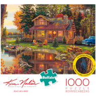 Kim Norlien Peace Like a River 1000 Piece Jigsaw Puzzle Box
