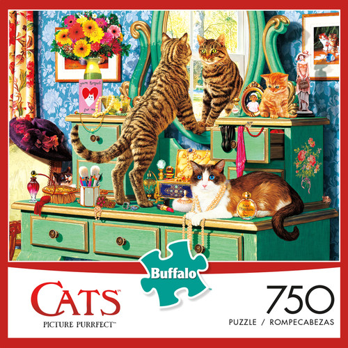 Cats Picture Purrfect 750 Piece Jigsaw Puzzle Box