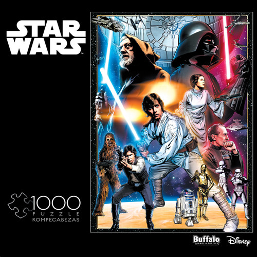 Star Wars: The Circle is Now Complete - 1000 Piece Jigsaw Puzzle Box