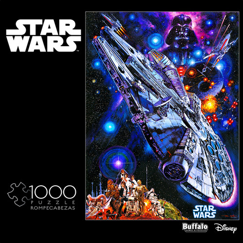 """Star Wars™: """"You're All Clear, Kid"""" 1000 Piece Jigsaw Puzzle Box"""