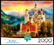 Aimee Stewart's Castle Dream 2000 Piece Jigsaw Puzzle Box