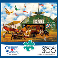 Charles Wysocki Hero Worship 300 Large Piece Jigsaw Puzzle Box