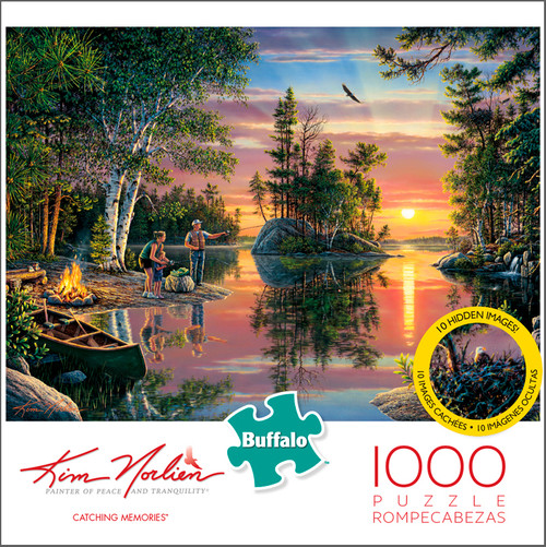 Kim Norlien Catching Memories 1000 Piece Jigsaw Puzzle Box