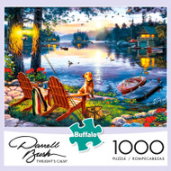 Darrell Bush Twilight's Calm 1000 Piece Jigsaw Puzzle Box