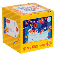 Silly Street Happy Birthday 48 Piece Children's Jigsaw Puzzle Box Front