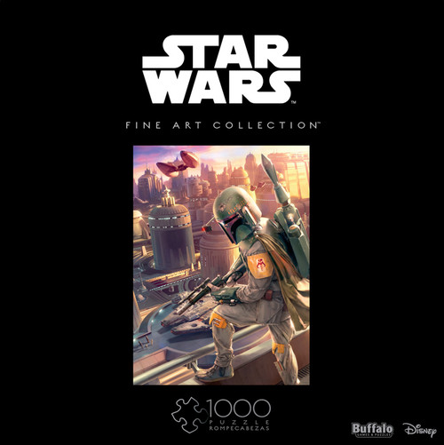 Star Wars™ Fine Art Collection Boba Fett 1000 Piece Jigsaw Puzzle Box