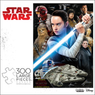 Star Wars™ Rey and The Resistance 300 Large Piece Jigsaw Puzzle Box