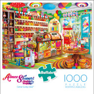 Aimee Stewart Collection: Corner Candy Store 1000 Piece Jigsaw Puzzle Box