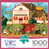 Charles Wysocki Sugar and Spice 1000 Piece Jigsaw Puzzle Box