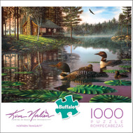 Kim Norlien Northern Tranquility 1000 Piece Jigsaw Puzzle Box
