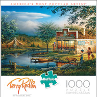 Terry Redlin Summertime 1000 Piece Jigsaw Puzzle Box