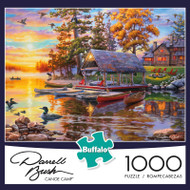 Darrell Bush Canoe Camp 1000 Piece Jigsaw Puzzle Box