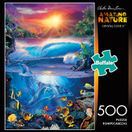 Amazing Nature Crystal Cove II 500 Piece Jigsaw Puzzle Box