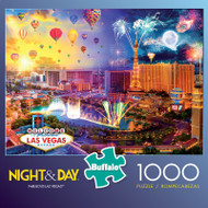 Night & Day Fabulous Las Vegas 1000 Piece Jigsaw Puzzle Box