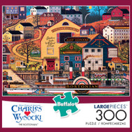 Charles Wysocki The Bostonian 300 Large Piece Jigsaw Puzzle Box