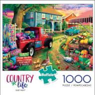 Country Life Quilt Farm 1000 Piece Jigsaw Puzzle Box