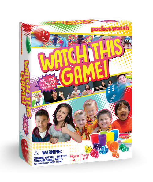 Watch This Game! Box Front