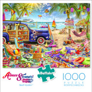 Aimee Stewart Collection: Beach Vacation 1000 Piece Jigsaw Puzzle Box