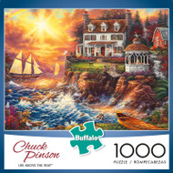 Chuck Pinson Escapes Life Above the Fray 1000 Piece Jigsaw Puzzle Box