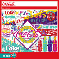 Coca-Cola Cool 90s 1000 Piece Jigsaw Puzzle Box