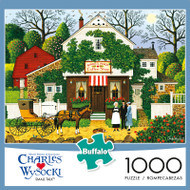 Charles Wysocki Small Talk 1000 Piece Jigsaw Puzzle Box