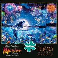 Christian Riese Lassen Marine Color The Dramatic Night 1000 Piece Jigsaw Puzzle Box
