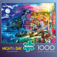 Night & Day Cinque Terre Splendor 1000 Piece Jigsaw Puzzle Box
