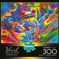 Vivid Rainforest Frog 300 Large Piece Jigsaw Puzzle Box