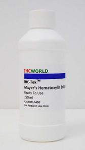 IHC-Tek Mayer's Hematoxylin Solution, Ready To Use, 250 ml