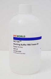 IHC-Tek Washing Buffer PBS-Tween 20, Ready To Use. 500 ml