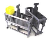 EZ-Quick Slide Staining Rack, Gray, Plastic, Each