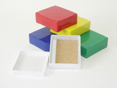 25-Place Slide Storage Box, white, each
