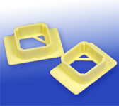 Embedding Spare O-Rings - Yellow, 500 pcs/pack