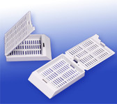 Histology/Tissue Processing Cassettes - White, 500 pcs/pack