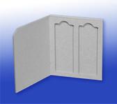 2-place Cardboard Slide Mailer, 10 pcs/pack