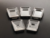 Stainless Steel Embedding Base Molds 37x24x5mm, 12 pcs/pack