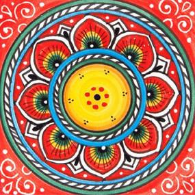Deruta Red - Italian Ceramic Tile
